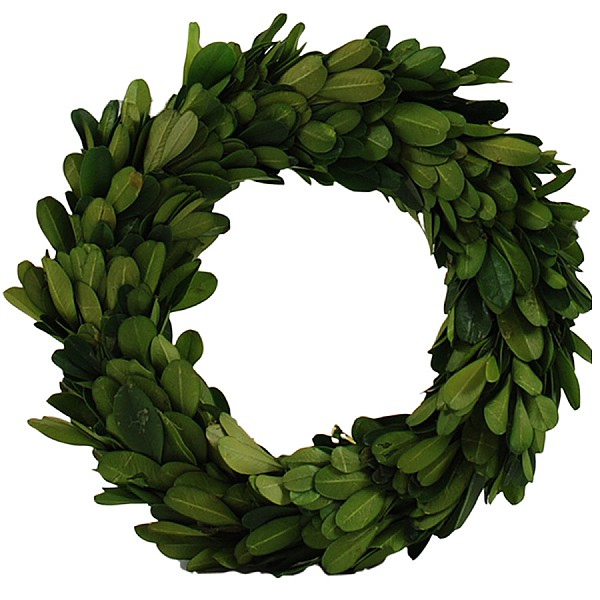 Boxwood Wreath - 25 cm