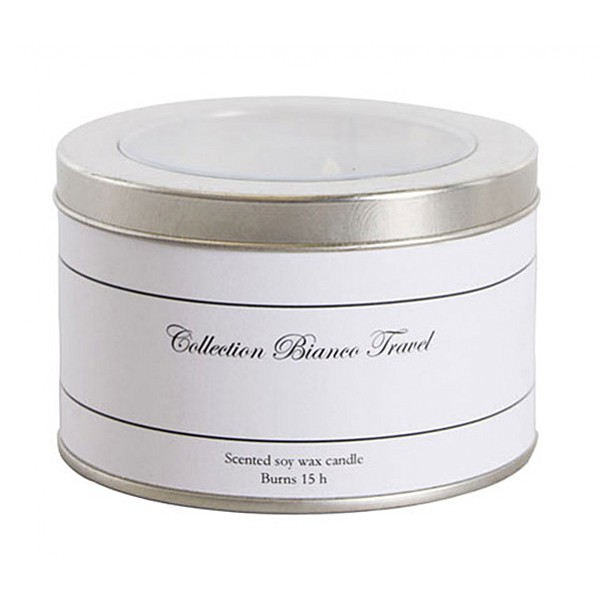 Scented Candle Water Melon - Collection Bianco Travel