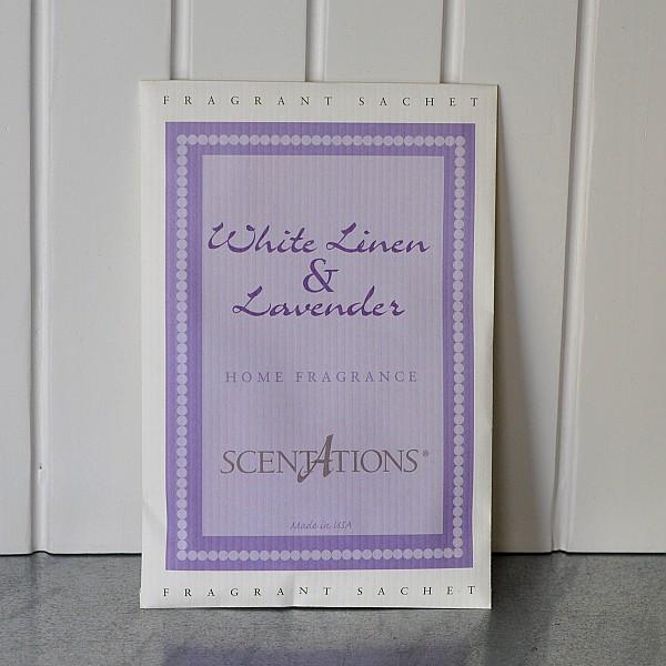 Scented Sachet White Linen