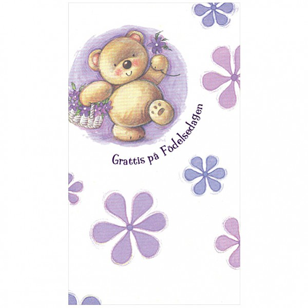 Greeting Card Teddy Bear