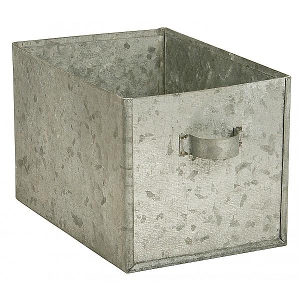 Zinc Box with handle