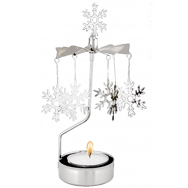 Rotary Candle Holder Snowflake