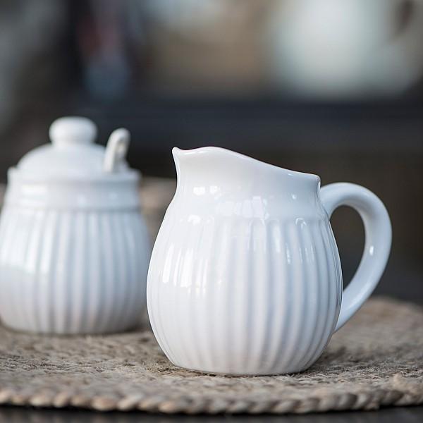 Creamer Mynte - Pure White