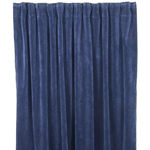 Curtains Velvet Navy Fondaco Mixin Home