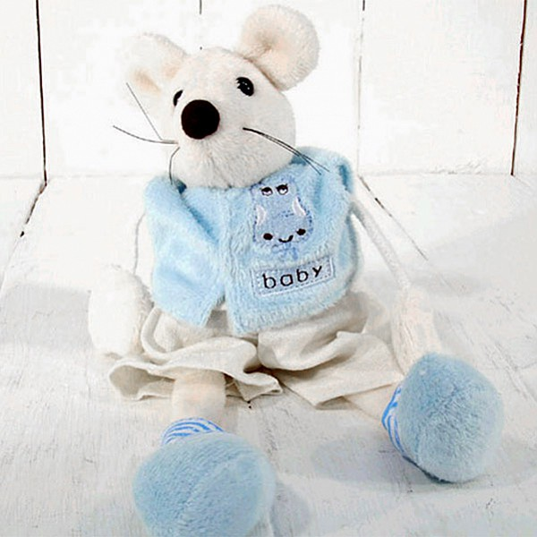 Mouse Baby - Light Blue