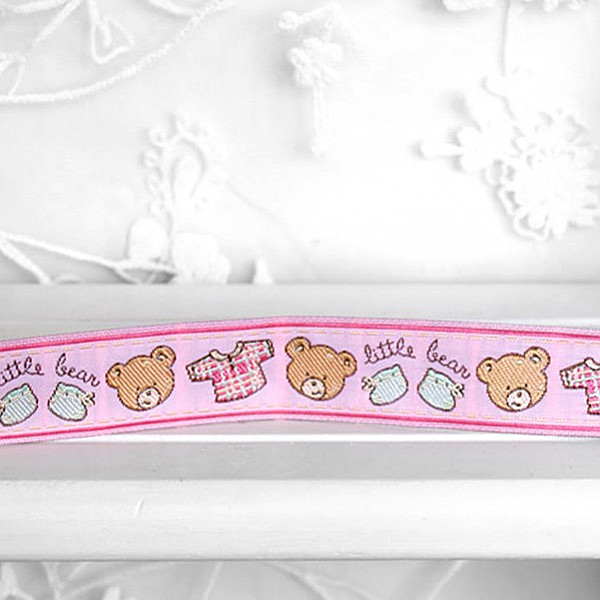 Ribbon Teddy Bear - Pink