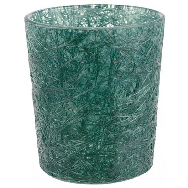 Glass Fibre Tealight Holder Forest Green