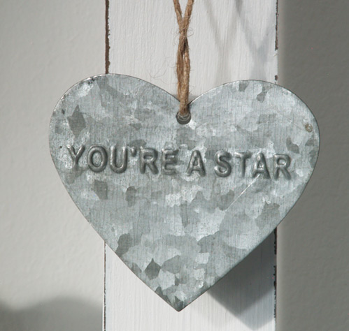Tag Heart YOU'RE A STAR
