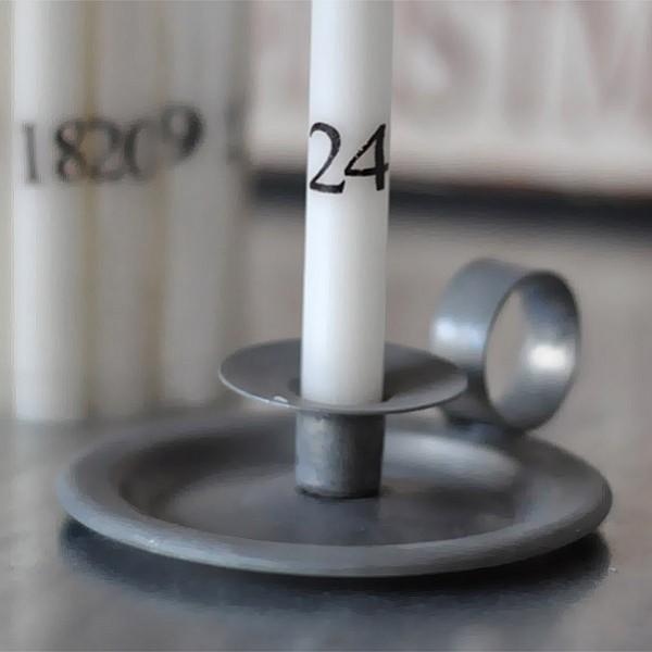 Chamber Candlestick Holder Zinc