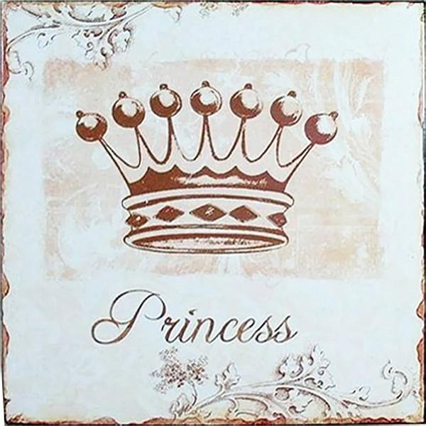 Tin Sign Princess