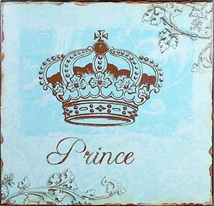Tin Sign Prince