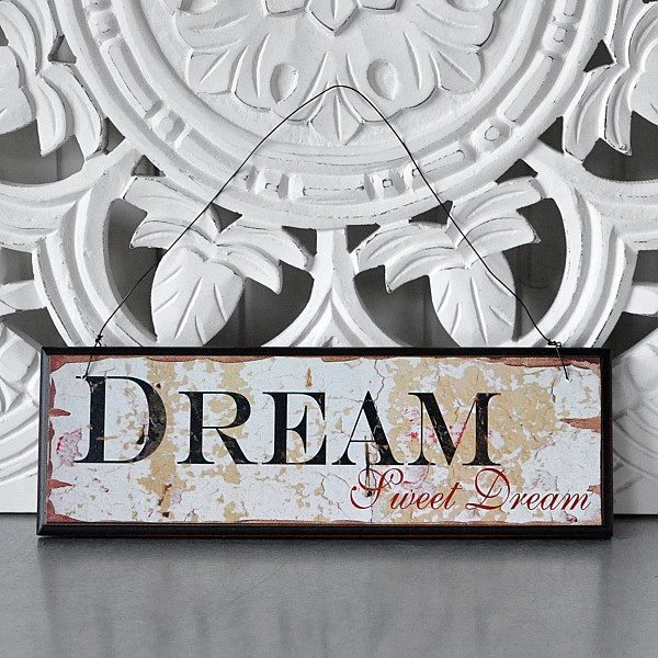Wooden Sign Dream Sweet Dream