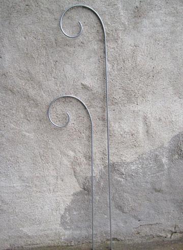 Flower Stick Zinc - 40 cm
