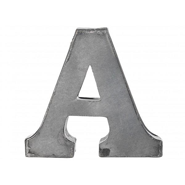 Zinc Letter A