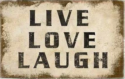 Canvas Live Love Laugh