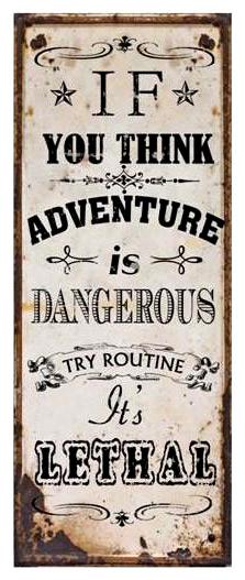 Tin Sign Adventure