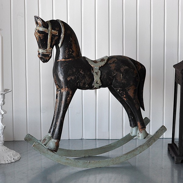 Rocking Horse TROJA Small - Black