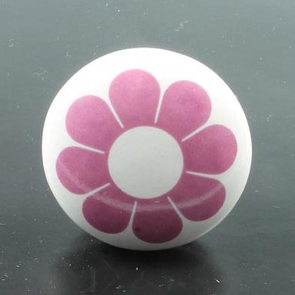 Knob Flower - Pink