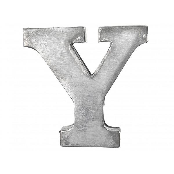 Zinc Letter Y
