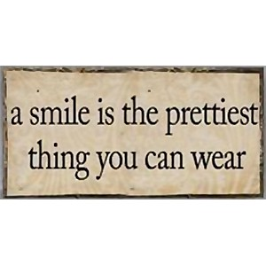 Magnet A Smile is the prettiest thing you can wear