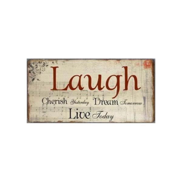 Magnet Laugh cherish yesterday dream tomorrow live today