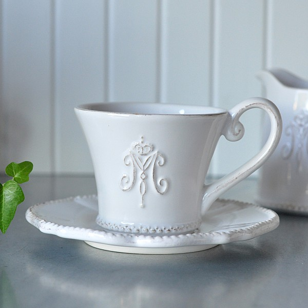 Coffee Cup / Saucer Maison