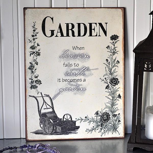 Metal Sign Garden