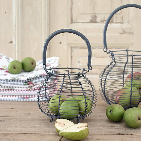 Egg Basket / Wire Basket - Small
