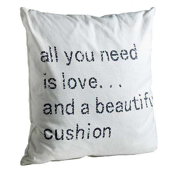 Cushion Cover all you need is love