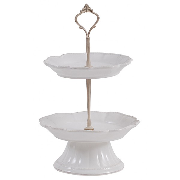 Two tier Cake Stand Maison