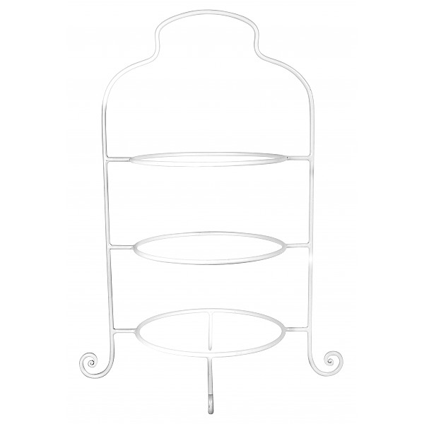 Plate Stand - White