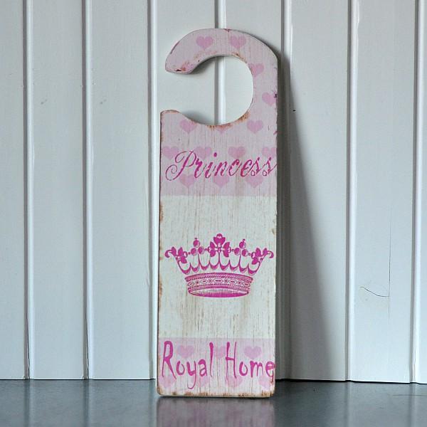 Door Sign Princess Royal Home