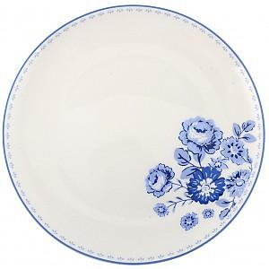 Plate Blue Rose