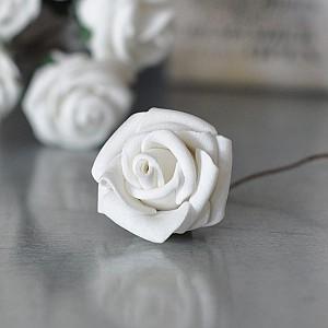 Dekor Ros Vit 2,5 cm