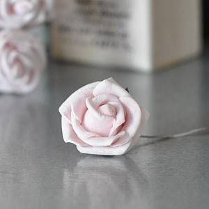 Dekor Ros Soft Rosa 2,5 cm