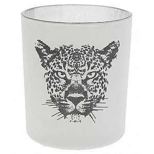 Candle Holder Leopard