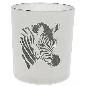 Candle Holder Zebra