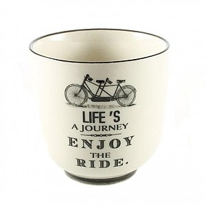 Cup Life's a journey