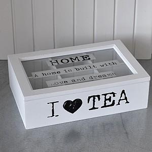 Telåda I LOVE TEA