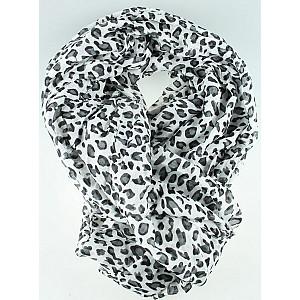 Sjal Leopard