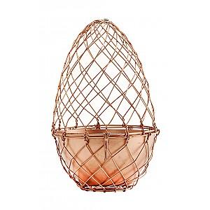 Ägg i nät med kruka