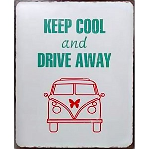 Tin Sign Keep Cool