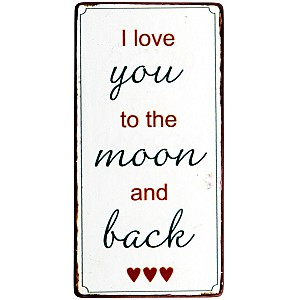 Magnet I love you to the moon