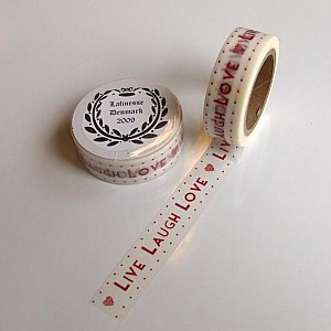 Washi Tape Live Laugh Love