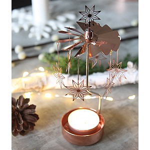 Rotary Candle Holder Star