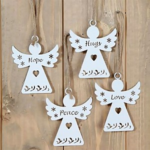 Angels Hope Hugs Peace Love