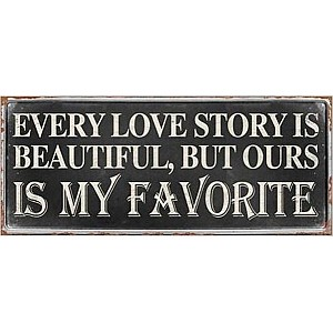 Tin Sign Love Story