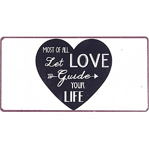Magnet Let love guide your life