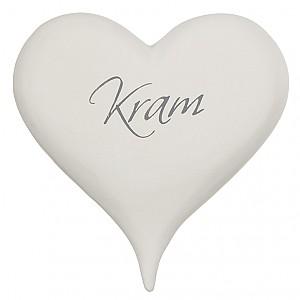 Hjärta med text Kram