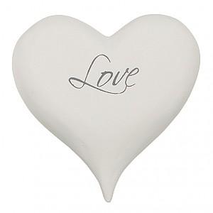 Hjärta med text Love